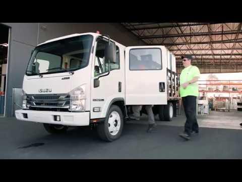 Isuzu N-Series Gas Trucks