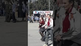 Праздничный Парад посвященный Дню Победы!!! Амурская область г. Свободный!!!