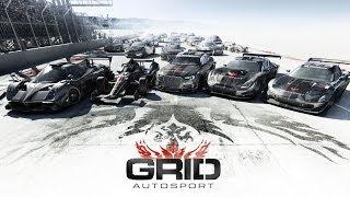 GRID Autosport - Splitscreen Gameplay Trailer - Hypercar Street Racing