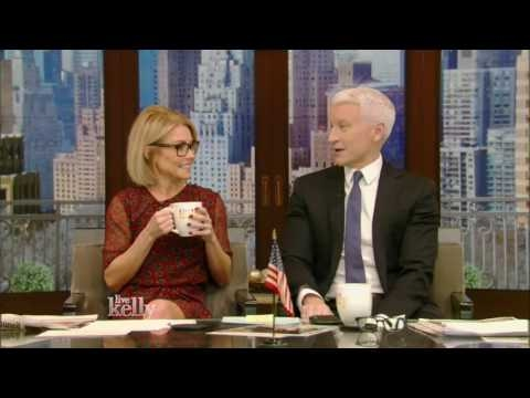 Live With Kelly 01/23/2017 co-host Anderson Cooper;Jimmy Smits;Melissa Benoist; Priyanka Chopra