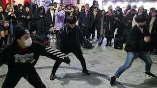 JHKTV]홍대댄스 킹덤즈hong dae k-pop dance kingdoms fire