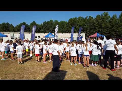 2016 East Wake Academy Fun Run (Boosterthon)