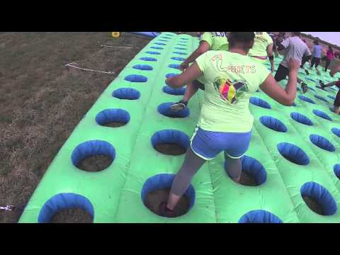 Insane Inflatable 5k (GoPro) from YouTube · Duration:  4 minutes 26 seconds