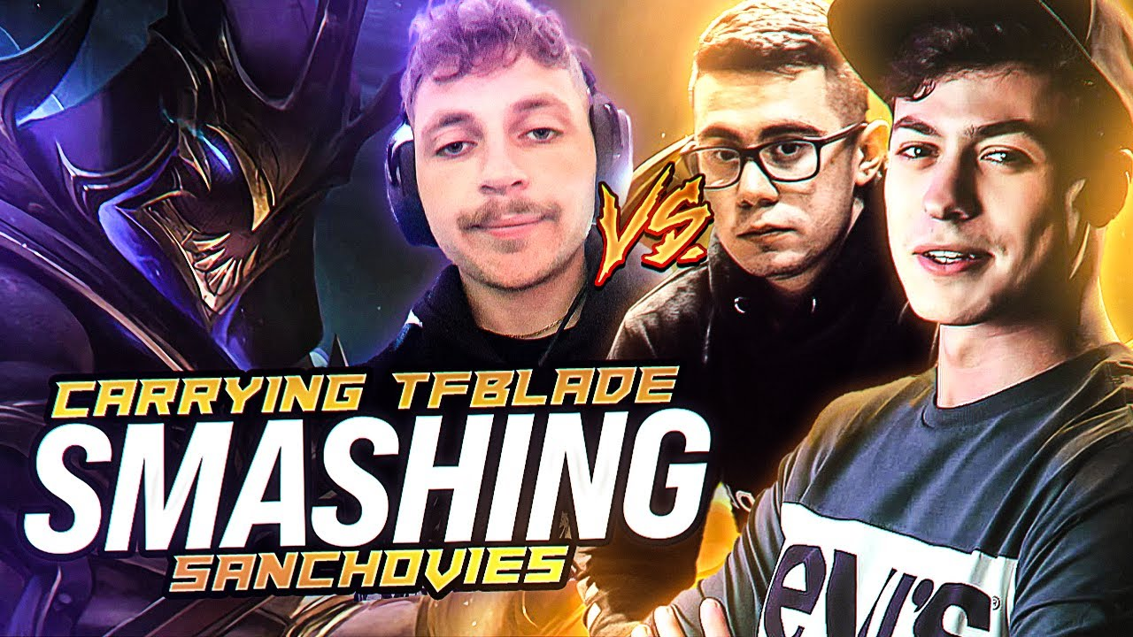 LL STYLISH | CARRYING TF BLADE AND SMASHING SANCHOVIES