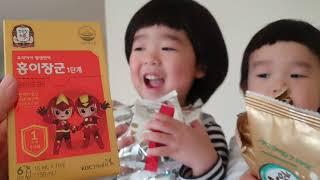미국vlog친정엄마 택배 언박싱!!! | 한국에서 온 …