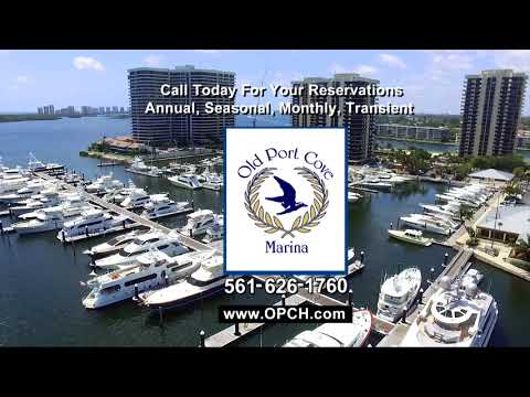 Old Port Cove, North Palm Beach and New Port Cove Marine Center Videos