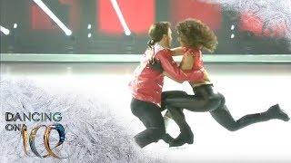 Sarah Lombardi macht mit dieser Kür die Jury sprachlos! | Dancing on Ice | SAT.1