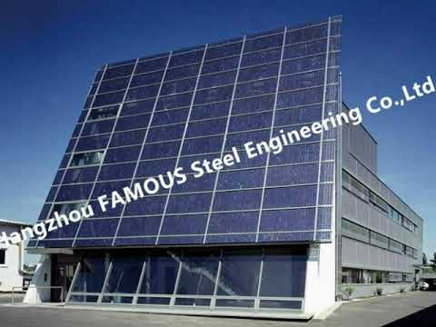 PV glass curtain walls, BIPV ventilated facade systems for Solar EPC Contractors China Supplier