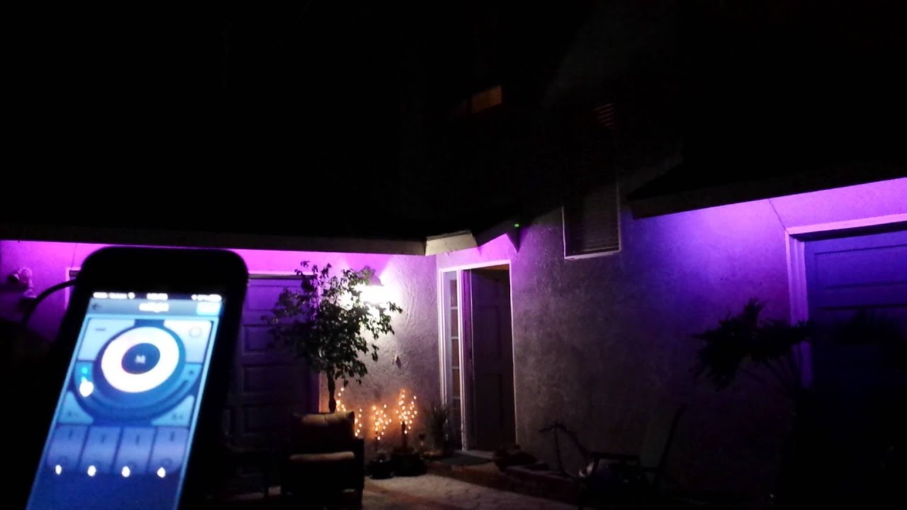 Led Lighting Under Fascia Board Youtube