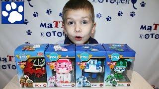 Коллекция Игрушек Робокар Поли Распаковка   Robocar Poli Toys Unboxing
