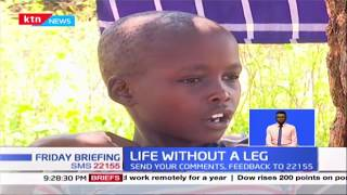 Life without a Leg: 10-year-old boy amputated after he was allegedly shot twice during disarmament