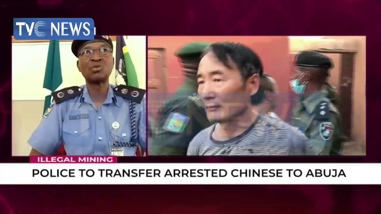 (Breaking) Illegal Mining: Police To Transfer Arrested Chinese Parasites to Abuja