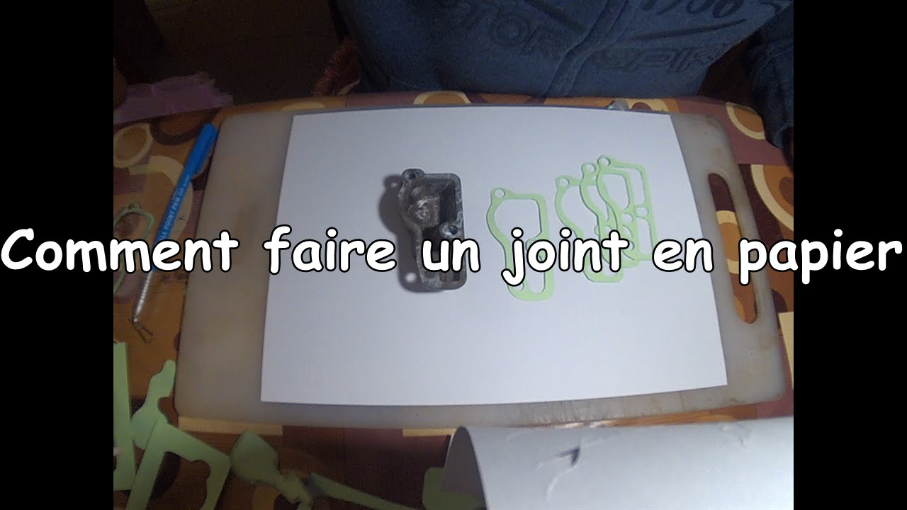 comment faire des joints en papier pour les pi ces m caniques diy paper gasket youtube. Black Bedroom Furniture Sets. Home Design Ideas