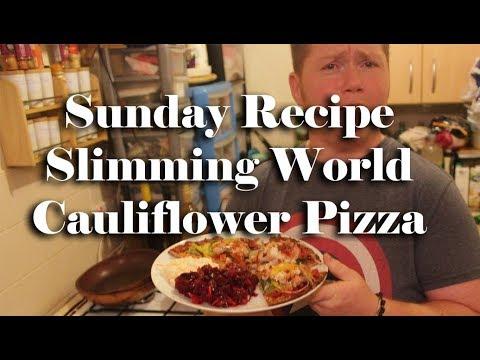 Slimming World Cauliflower Base Pizza Sp