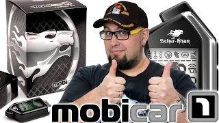 Scher-Khan Mobicar 1: распаковка автосигнализации