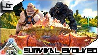 ARK: Survival Evolved - CYCLOPS, FAT OGRE, GIANT CRAB TAMED! S2E2 ( Modded Ark Extinction Core )