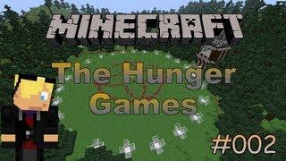 Minecraft HungerGames #002 - ( Der Anfang ist schonmal ganz gut - Part 1/2 ) [Deutsch] -HD-