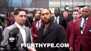KEITH THURMAN UNIMPRESSED WITH DANNY GARCIA'S POWER; SAYS HE'S A BASIC PUNCHER THAT WON'T DROP HIM