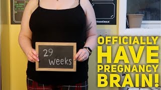PREGNANCY BRAIN STRUGGLE IS REAL! 29 WEEK BABY UPDATE (Bumpdate)