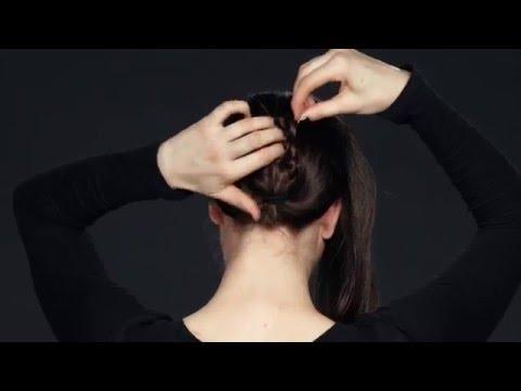 New York Fashion Week Runway Hairstyle Tutorial: Twisted Braided Bun