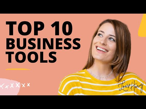 My Top 10 Online Business Tools in 2020