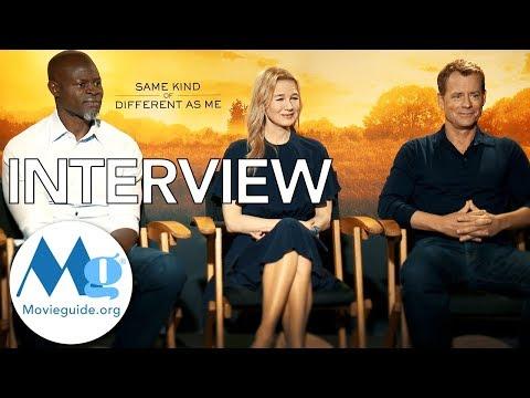 SAME KIND OF DIFFERENT AS ME Exclusive Interview feat: Renee Zellweger, Greg Kinnear, Djimou Hounsou