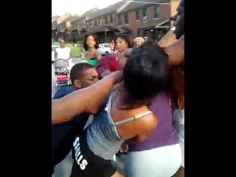 Ratchet fights in the ghetto