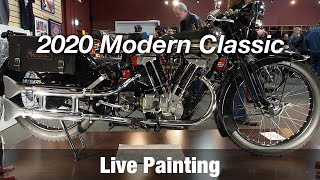 Motorcycle Art part 93 / 2020 Modern Classic Motorcycle Show