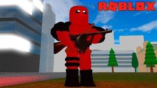 ME TRANSFORMEI NO DEADPOOL - ROBLOX (Deadpool 2)