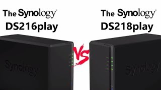 Synology DiskStation NAS DS218play 2-Bay (1GB RAM)