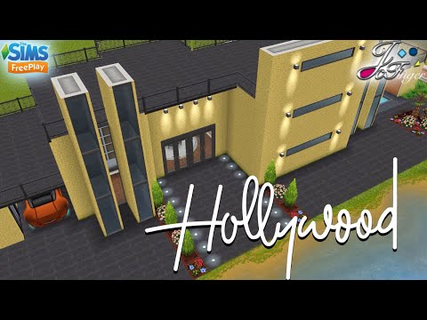 Sims FreePlay ⭐️🎙🎬| HOLLYWOOD MANSION | By Joy.