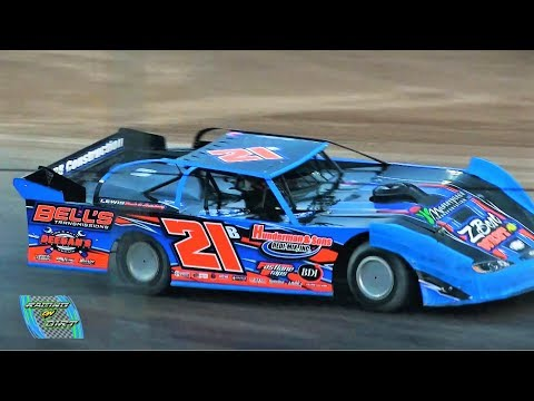 Late Model 2nd Heat 9-3-17 Merritt Speedway