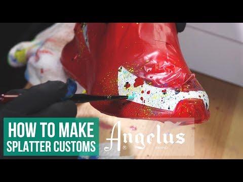 Speckles & Splatter | Custom Nike Air Max 270 | Angelus Paint