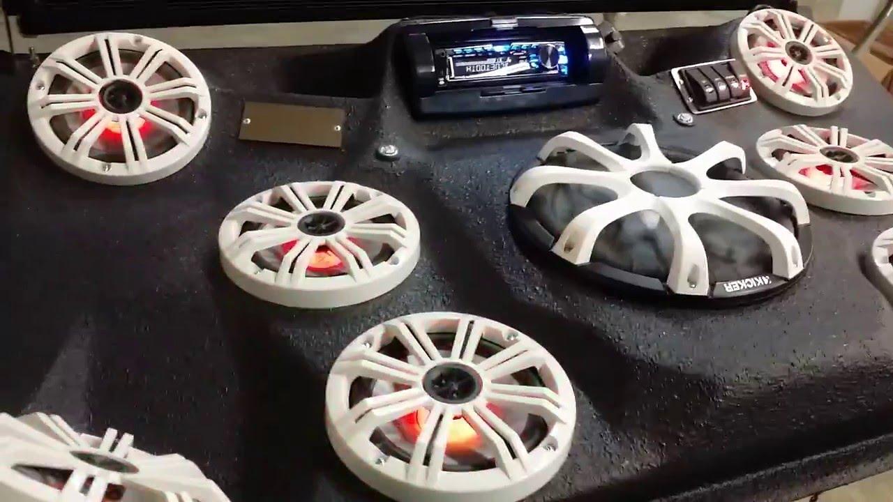 Mayhem Mfg Polaris Ranger 900 Audio Roof Youtube