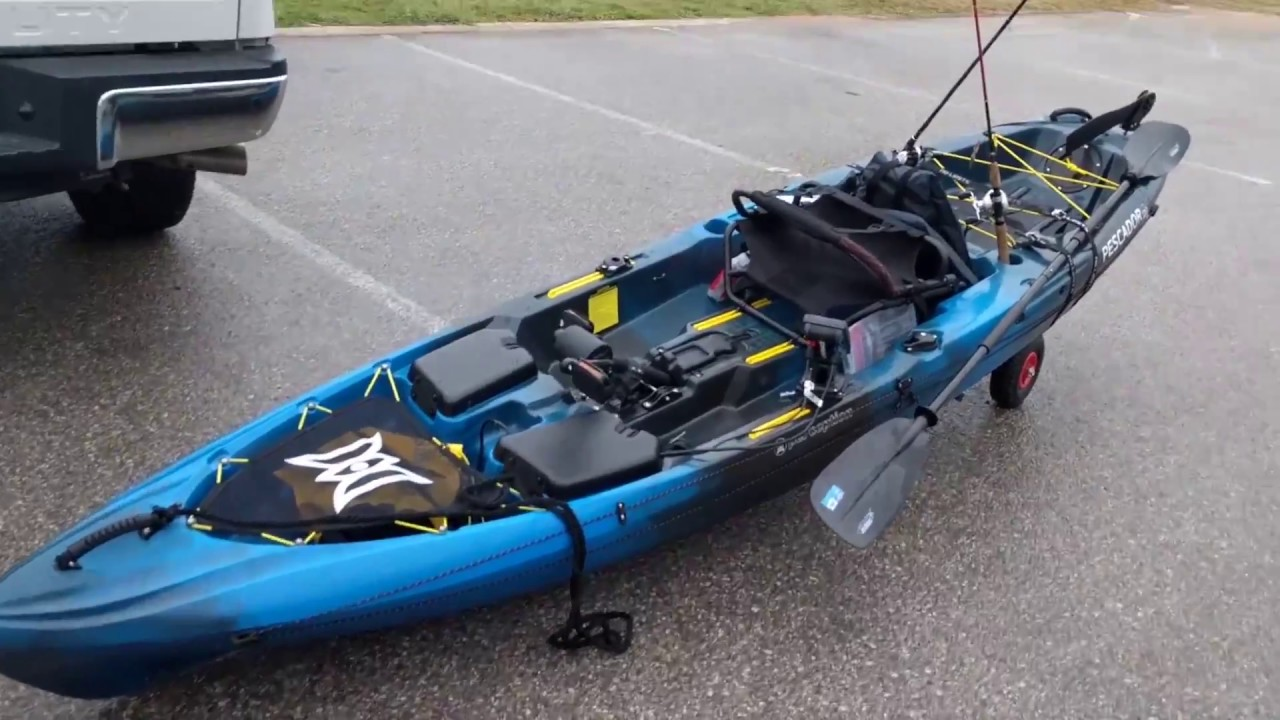Perception Pescador Pilot 12 Review | Pedal Kayaks | FishingTech