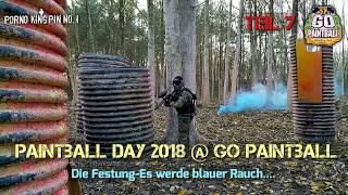 ★ Paintball Day 2018 @ Go Paintball (Teil 7│Die Festung-Es werde blauer Rauch)