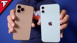iPhone 11 vs. iPhone 11 PRO (magisches unboxing)
