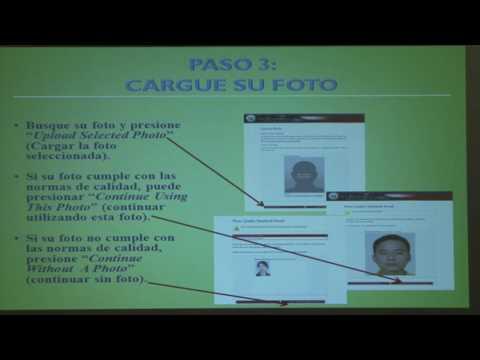 Nuevo formulario para visa americana. Embajada de los Estados Unidos en Guatemala