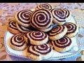 Печенье улиткипеченье зебрапесочное печеньеshortbread snailcookiesпростой рецепточень вкусно