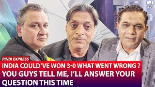 India Could've Won 3-0 | What Went Wrong ? | You Guys Be The Judge | Shoaib Akhtar | SP1N