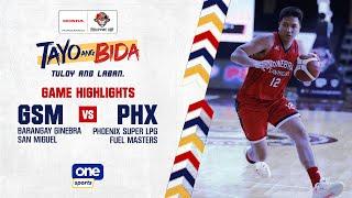Ginebra Vs Phoenix Highlights   2021 PBA Philippine Cup - Sept 25, 2021