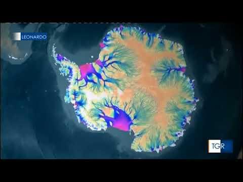 """scioglimento ghiacciaio IN Antartide """"Totten glacier catchment area"""" TG Leonardo del 20 marzo 2018"""