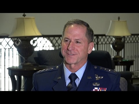USAF Chief Goldfein on Uncertain Budget, a Bigger Force & Pilot Retention