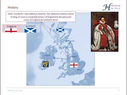 The United Kingdom of Great Britain & Northern Ireland - A History of Origins