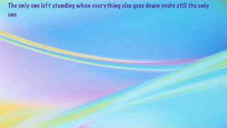 Lifehouse - Only One (lyrics)