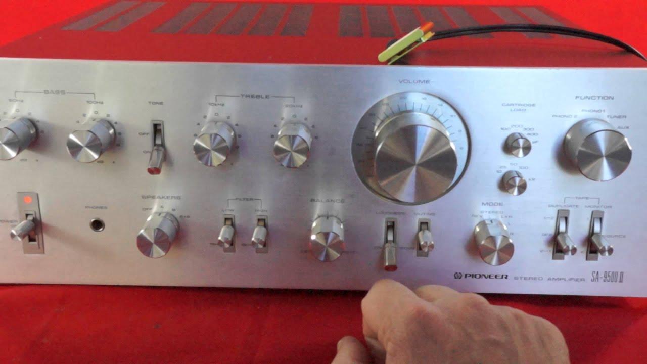 Pioneer Sa Ii Vintage Demonstration Amplifier