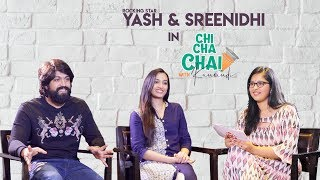 Yash and Srinidhi Shetty Special interview || #KGF || Chi Cha Chai with Kaumudi