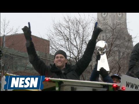 Patriots Super Bowl LI Victory Parade Rocks Boston
