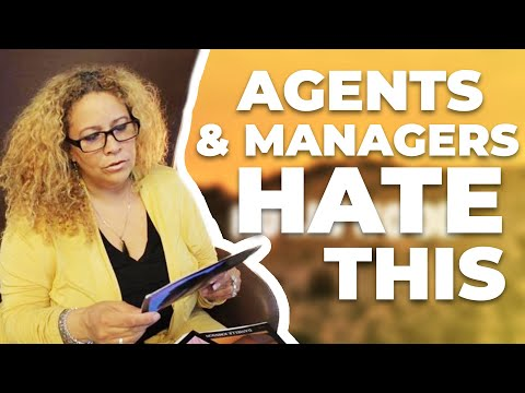 agents and managers hate when actors do this how to become an actor