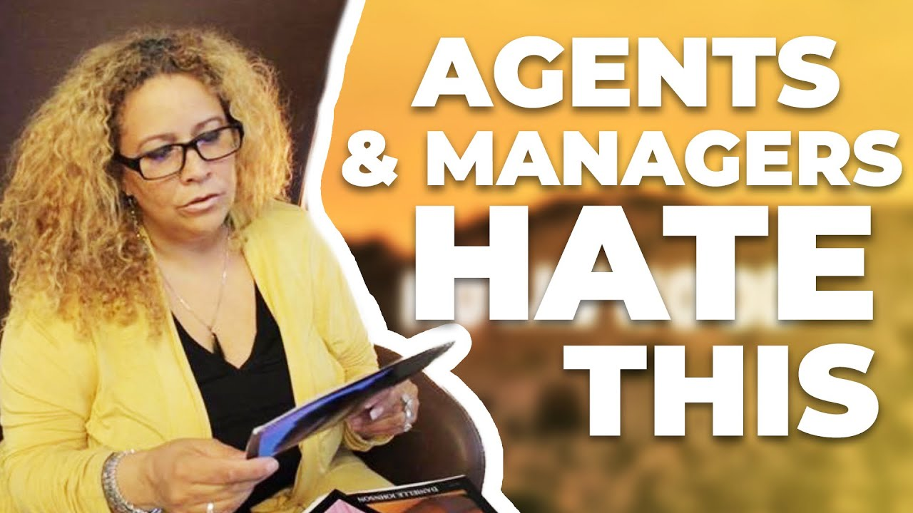 actors agents and managers hate when you do this